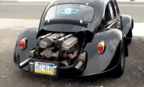 Best V8 Swap VW Beetle Ever